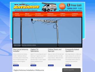 newimageantennas.com.au screenshot