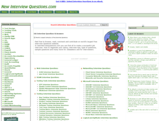 newinterviewquestions.com screenshot