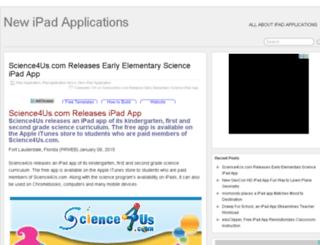 newipadapplications.website-site.com screenshot