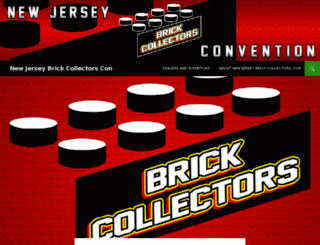 newjerseybrickcollectorscon.com screenshot