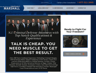 newjerseycriminallawattorney.com screenshot