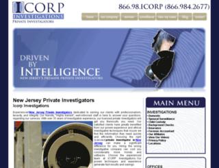 newjerseyprivateinvestigatorssite.com screenshot