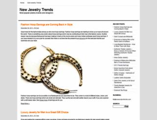 newjewelrytrends.com screenshot