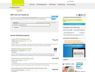 newjob.de screenshot