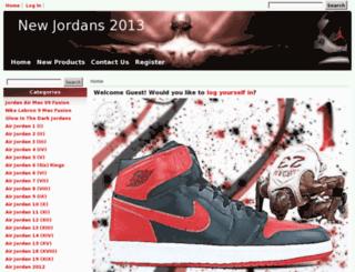 newjordans2013.com screenshot