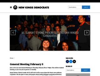 newkings.nationbuilder.com screenshot