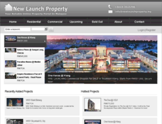 newlaunchproperty.my screenshot