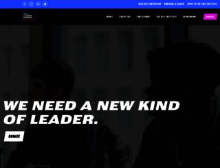 newleaderscouncil.org screenshot