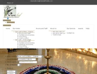 newleafhotel.com screenshot