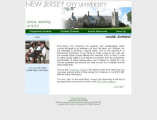 newlearning.njcu.edu screenshot