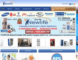 newlife-hyd.com screenshot