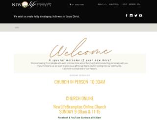 newlifebrampton.ca screenshot