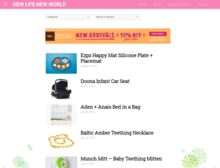 newlifenewworld.com screenshot