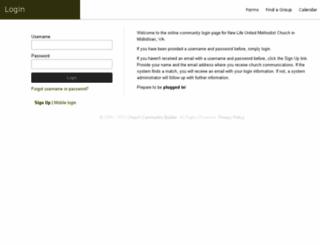 newlifeumc.ccbchurch.com screenshot