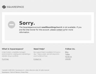 newlifeunitingchurch.squarespace.com screenshot