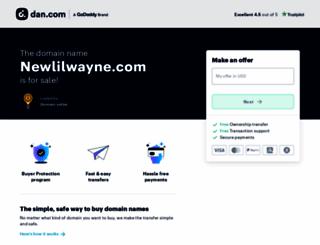 newlilwayne.com screenshot