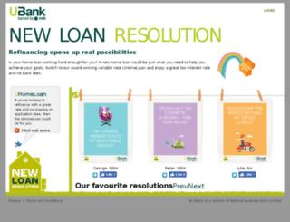 newloanresolution.com.au screenshot