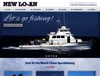 newloansportfishing.com screenshot