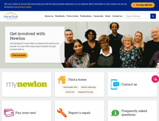 newlon.org.uk screenshot