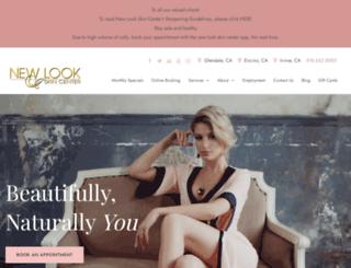 newlookskincenter.com screenshot