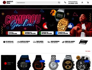 newlooktime.com.br screenshot