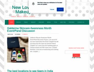 newlove-makeup.com screenshot