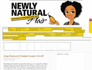 newlynatural.com screenshot
