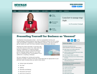 newmangroup.com screenshot