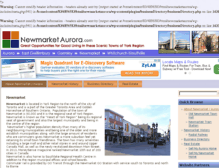 newmarketaurora.com screenshot