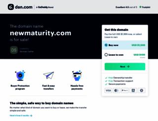 newmaturity.com screenshot