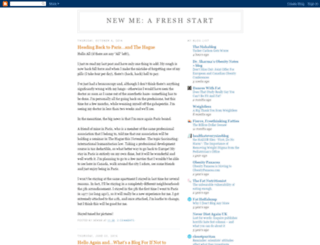 newme-freshstart.blogspot.com screenshot