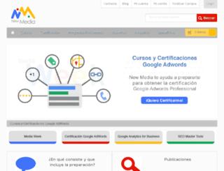 newmediaecuador.com screenshot