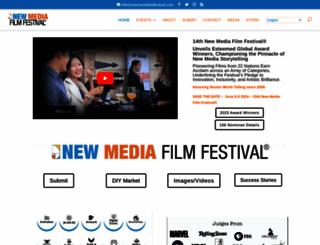 newmediafilmfestival.com screenshot