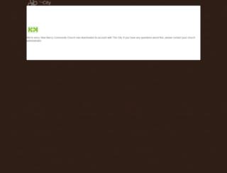 newmercy.onthecity.org screenshot