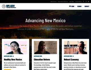 newmexico.gov screenshot