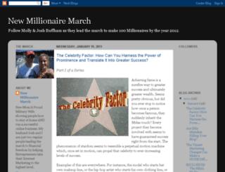 newmillionairemarch.blogspot.com screenshot