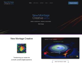 newmontagemedia.com screenshot