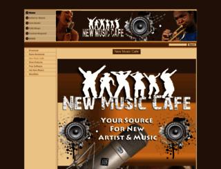 newmusiccafe.com screenshot