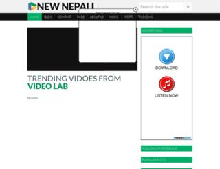 newnepalivideo.blogspot.ae screenshot