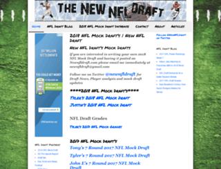 newnfldraft.com screenshot