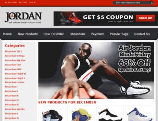 newnikejordan2013.com screenshot