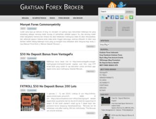 newnodepositbonusforexbroker.blogspot.com screenshot