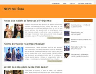 newnoticia.com.br screenshot