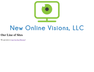 newonlinevisionsllc.com screenshot