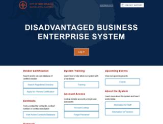 neworleans.dbesystem.com screenshot