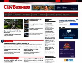 neworleanscitybusiness.com screenshot