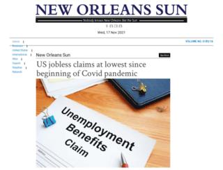 neworleanssun.com screenshot