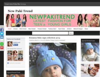 newpakitrend.com screenshot