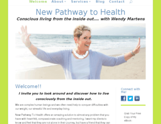 newpathwaytohealth.com screenshot