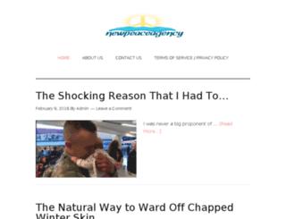 newpeaceagency.com screenshot